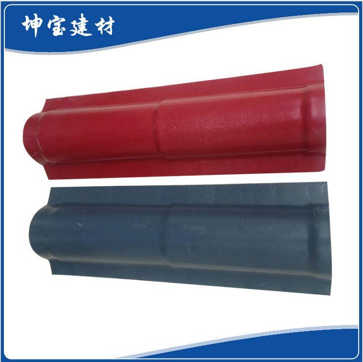 合成树脂瓦配件:斜脊瓦