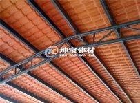 养殖厂|化工厂使用树脂防腐瓦案例