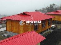 西藏旅游民宿区使用耐候树脂