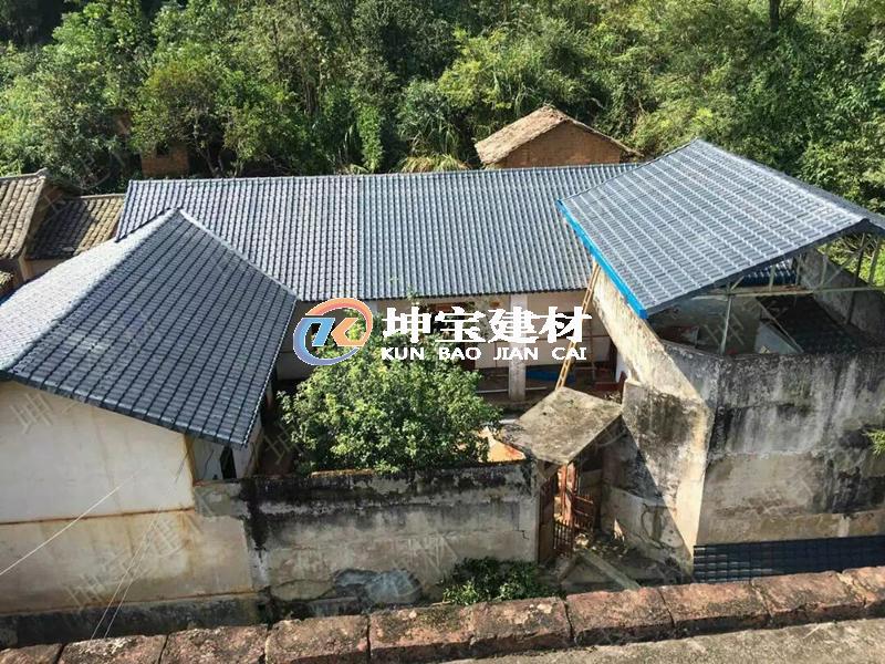 环境气候较差,建筑屋面瓦如