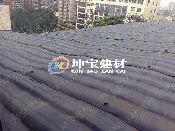 树脂瓦厂家有话说:屋面塌陷