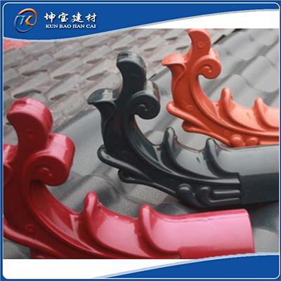 合成树脂瓦配件:飞檐翘角