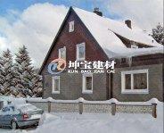 高寒雪压下的树脂瓦屋面安全