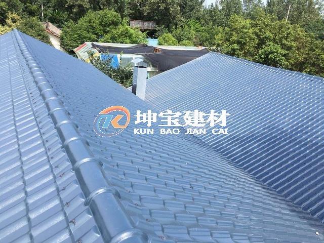 四川树脂瓦厂家安装洛带翻新改造屋面
