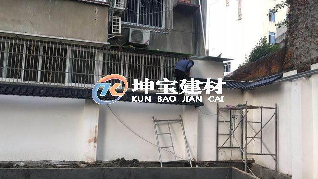 门头门庭屋檐装饰仿古一体瓦 围墙瓦